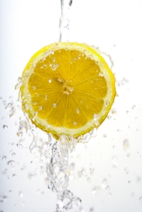Half lemon wash