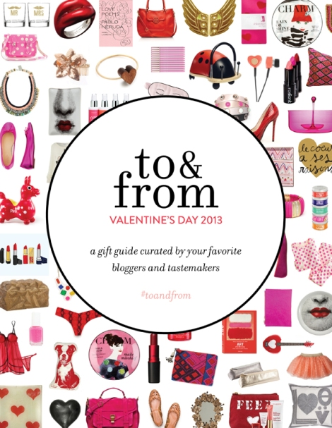 To and From Valentine's Day Gift Guide 2013